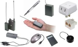 盗聴器の種類